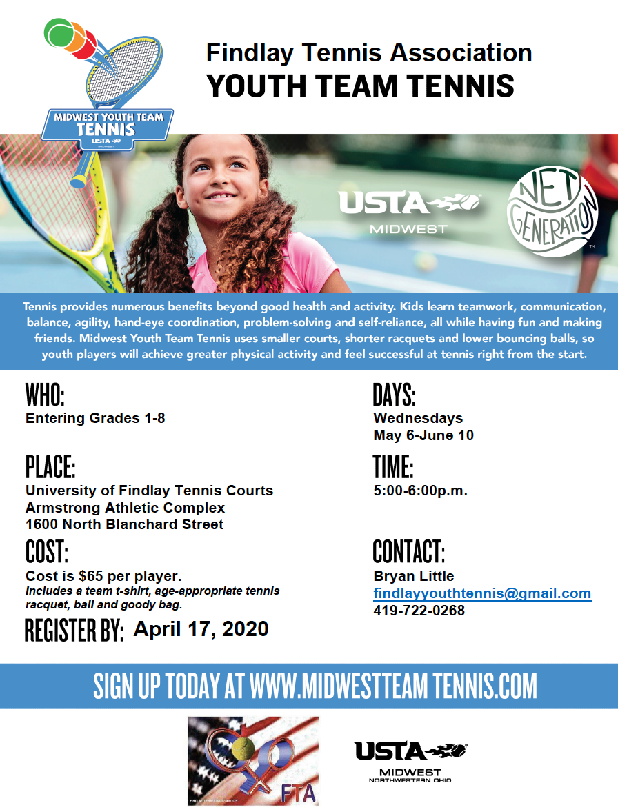 Youth Team Tennis Information