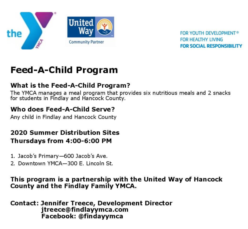 Feed A Child Summer 2020