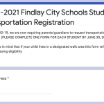 2020-2021 Transportation Form